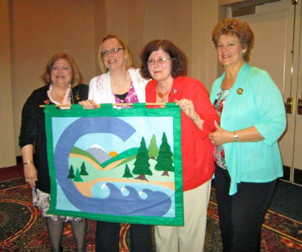 Elizabeth Vancisin Conservation Award went to the Newington/Wethersfield Woman's Club