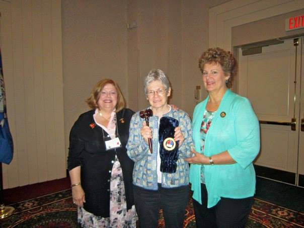 Plummer Gavel was awarded to the Sharon Woman's Club